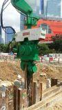 Marteau de pipe d'excavatrice pour la pile de tôle d'acier de 6-15m