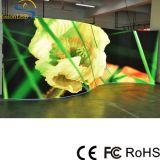 Afficheur LED d'intérieur incurvé par P3.91 élevé de définition avec le service avant pour des événements d'Audiovisiual