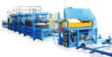 Vollautomatischer Schaumgummi gefüllte PU-Zwischenlage-Panel-Maschine