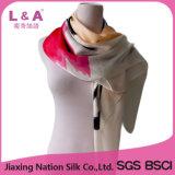 Frauen-reine Silk quadratische Schal-Schal-Fabrik