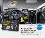 Индикация GPS Hud для сигнала тревоги Xy-Hud209 ограничения в скорости корабля автомобиля