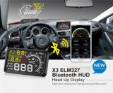 X-YHud209車の手段の制限速度アラームのためのGPS Hudの表示