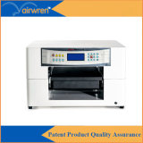 Impressora Flatbed UV do tamanho de vidro UV quente da máquina de impressão A3 do Sell