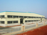 Edificio de la estructura de acero para el almacén, el taller, la casa del envase y la otra casa prefabricada