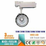 Éclairage léger commercial de piste de projecteur/piste de l'ÉPI DEL de qualité