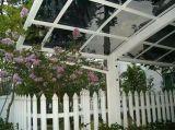 Qualitäts-Aluminiumlegierungrahmen glasig-glänzender Sunroom, Sunhouse fabrizierte vor