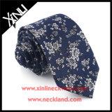 Laços florais impressos algodão magros para homens
