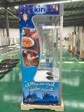 El refrigerador abierto de la visualización del supermercado con el Ce, CB, ETL aprobó