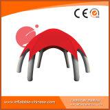 使用の膨脹可能なカスタム赤い空気堅いテントTent1-002の広告