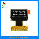 "0.68 "" Monochrome индикации OLED, белый цвет индикации, 96*32"