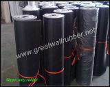 Folha de borracha industrial da borracha do CR da boa qualidade Gw1002