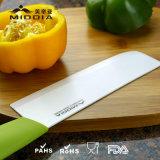 Produits en céramique de cuisine pour le couteau de Vegetagle de fendoir avec le traitement coloré