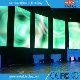 Kontrastreiche P4 bewegliche LED im Freienbildschirmanzeige