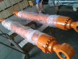 O cilindro de Pcw100s PC200-1-2 PC270 KOMATSU para a máquina escavadora parte o conjunto do cilindro da cubeta do crescimento do braço da construção. Peças da máquina escavadora
