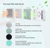 4 in 1 Zuiveringsinstallatie van de Lucht van het Ozon van de Afstandsbediening van de Filter Medische
