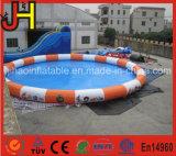 Piscina redonda inflable colorida para los cabritos y los adultos