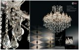 Indicatore luminoso a cristallo di lusso bianco del lampadario a bracci
