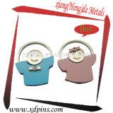 Factory New Design PVC Custom Keychain pour promotion publicitaire Cadeau ou ornement Pendentif