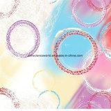 100%Polyesterカラー泡Pigment&Disperseは寝具セットのためのファブリックを印刷した