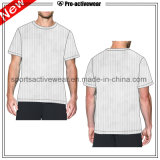 T-shirts faits sur commande d'hommes de prix concurrentiel d'OEM d'aperçu gratuit