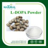 MucunaのPruriensのエキス、Lドーパ、Levodopaの粉