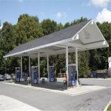 Costruzione poco costosa della stazione di rifornimento di carburante della struttura d'acciaio da vendere