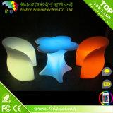 우량한 월마트는 LDPE 플라스틱 커피용 탁자 세트를 공급했다