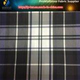 防水のヤーンによって染められる小切手ファブリックのポリエステル人のジャケットファブリック(YD1176)