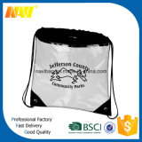 Cheap Promotion Clear PVC Drawstring Backpack Bag