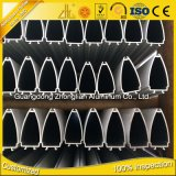 La fábrica de Foshan suministra el perfil de aluminio de la cocina 6063 T5 para los muebles