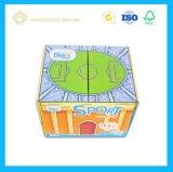 고품질 주문 로고 Foldable 마분지 선물 포장 상자 (싼 화물 박스)