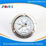 Medio calibrador de presión axial de los Ss con el borde