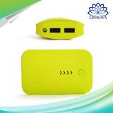 cargador portable del teléfono de la batería de la potencia 7800mAh con la linterna