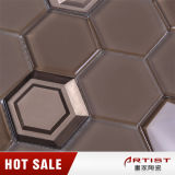 China Supplier Brown Vidrepur Mosaico de vidro de cristal para parede