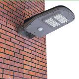 Luz de calle solar al aire libre del sensor de movimiento de China LED toda en una lámpara de pared