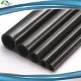 Fluss-Stahl-schwarzes Puder-beschichtetes galvanisiertes Stahlrohr