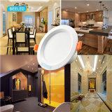 LED 아래로 가벼운 천장 빛 7W는 Wtihe 프로젝트 상업적인 LED Downlight를 데운다