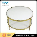 Tavolino da salotto rotondo di vetro della mobilia moderna del giardino