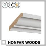 MDF do material de construção de Canadá com o molde de madeira aprontado