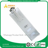 40W Outdoor Solar Products Sensor de movimento LED Street Light