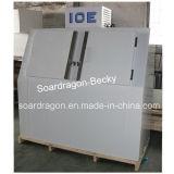 Compartimiento empaquetado puerta inclinada doble DC-600 del almacenaje del hielo