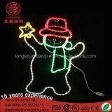 ホームそして庭のための星のクリスマスの装飾的なライトが付いている防水LED第2スノーマンを使用して