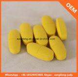 Tablette caoutchouteuse de vitamine C et marque de distributeur d'OEM pour Supplememt diététique