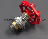 Шариковый клапан красной ручки пластичный (медный шариковый клапан внутрь)
