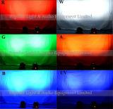 Lumière principale mobile 4PCS 10With18W DEL de lavage lumineux léger de Club/DJ/Bar