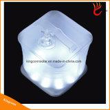للماء PVC طوي نفخ LED مكعب ضوء الطاقة الشمسية التخييم فانوس لإضاءة الطوارئ في الهواء الطلق