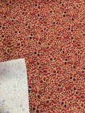 tela impressa 100polyester da pele do pêssego da tela do Short da praia