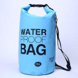 De promotie Openlucht het Kamperen 15L Zak van het Vat van de Rugzak Waterdichte Droge (YKY7272)
