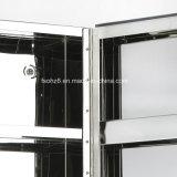 Heet Verkopend Kabinet 7058 van de Opslag van de Spiegel van de Badkamers van het Roestvrij staal