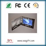 Подгонянная 7.0 поздравительная открытка промотирования дюйма TFT LCD видео-
